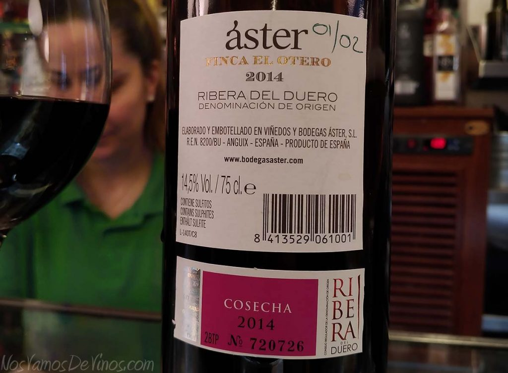 Aster Finca el Otero 2014 trasera