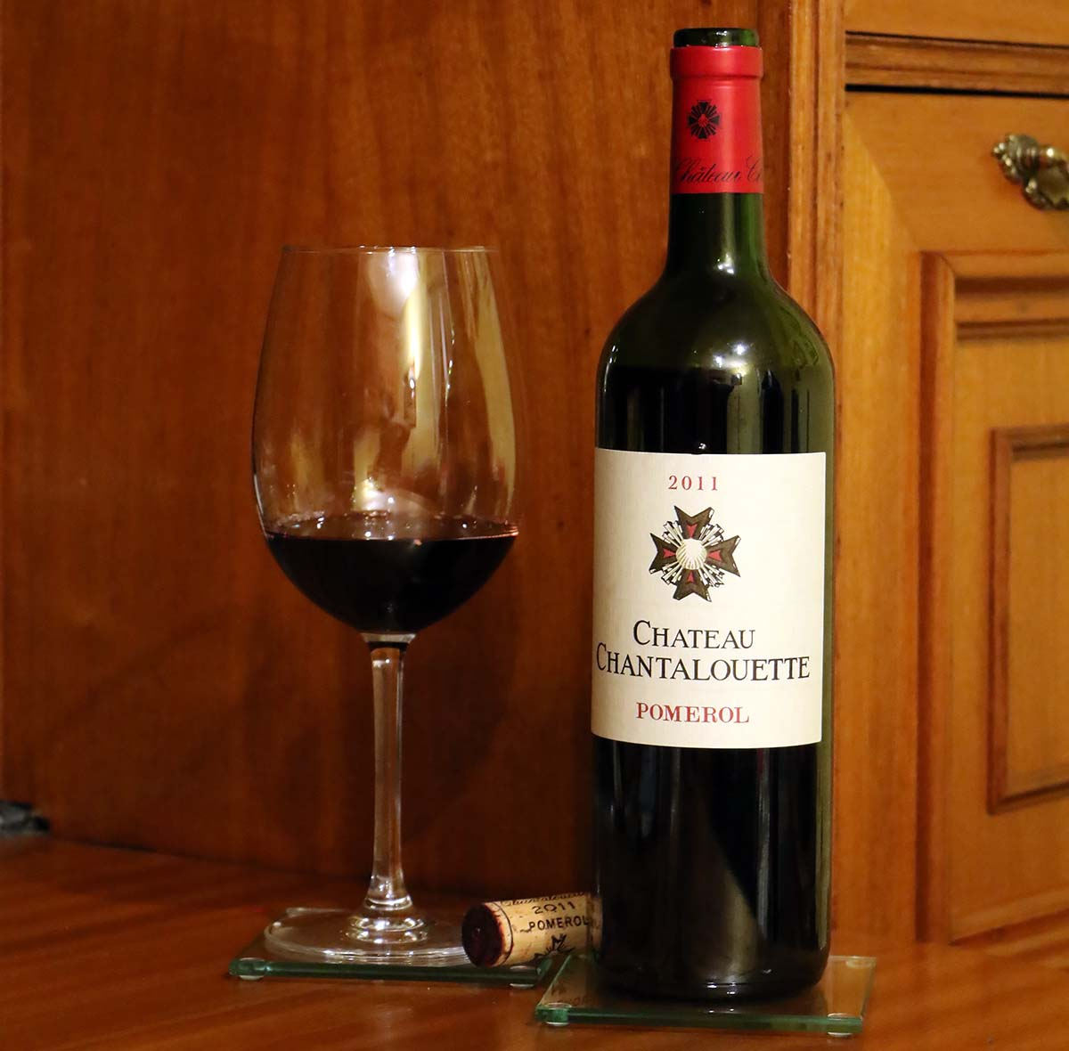 Chateau Chantalouette Pomerol 2011 Burdeos Bordeaux