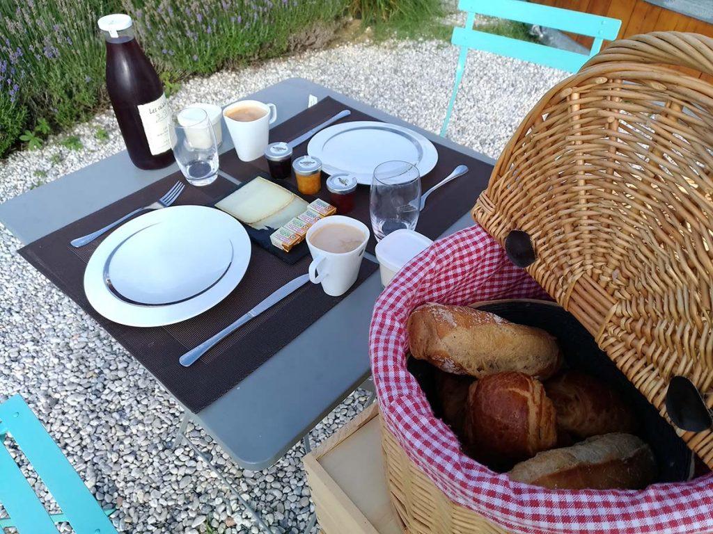 Coup 2 Foudres Chateau Bonhoste desayuno