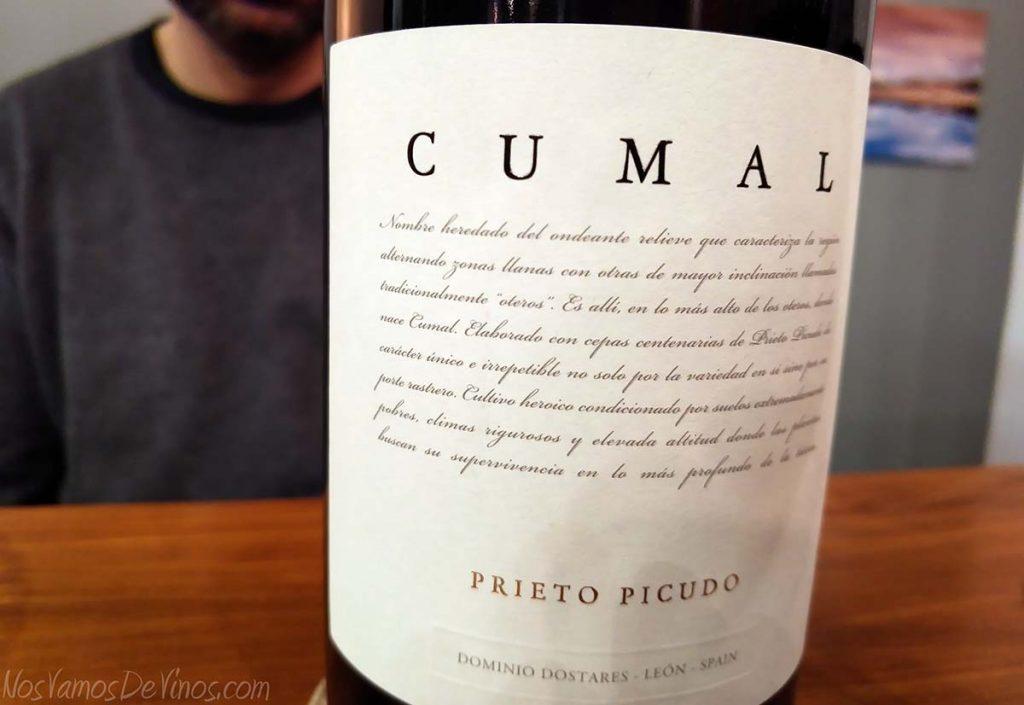 Cumal 2016 Dominio Dostares Prieto Picudo Detalle