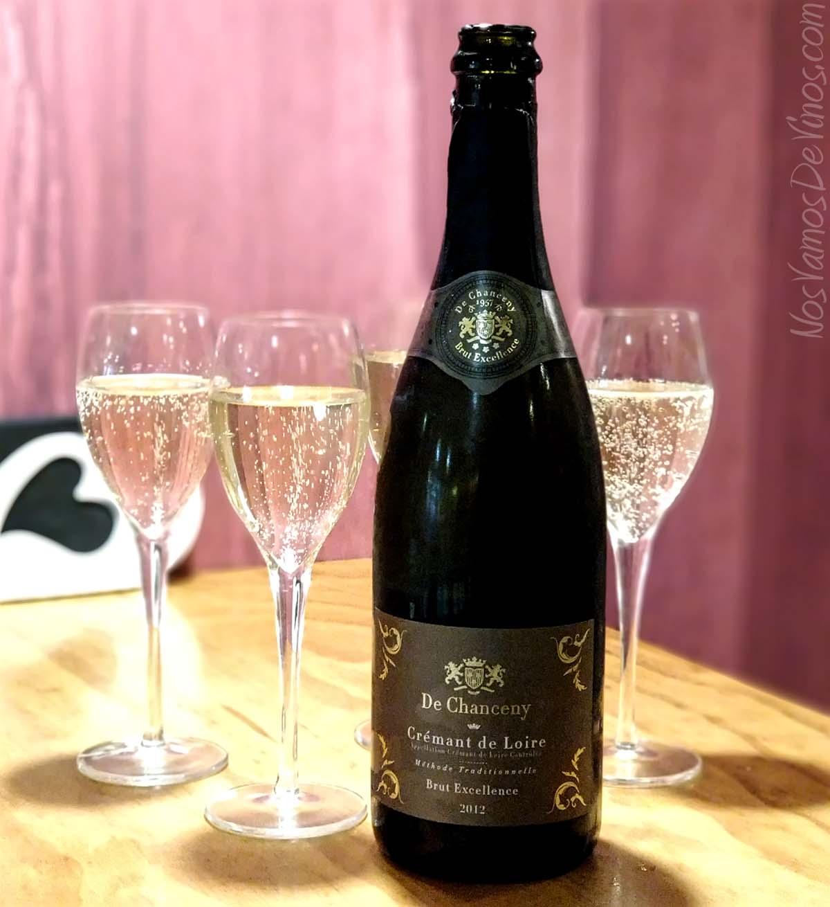 De Chanceny Cremant de Loire Brut Excellence 2012