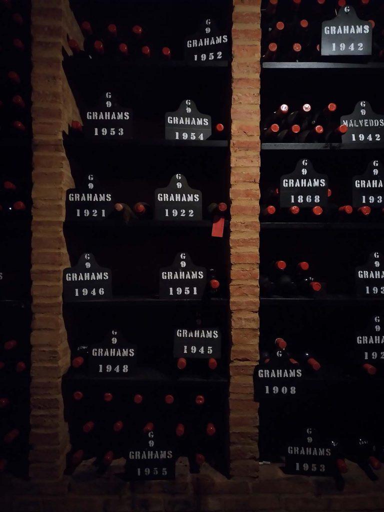 Grahams Porto Tawny bodega botellero
