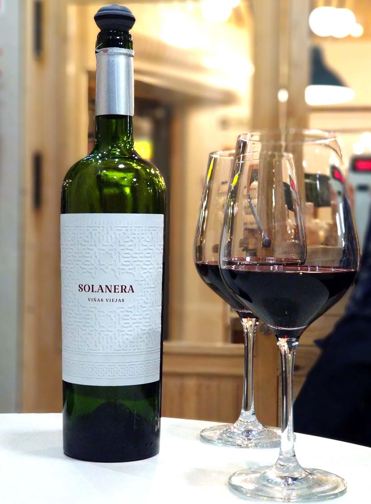 Solanera viñas viejas 2015