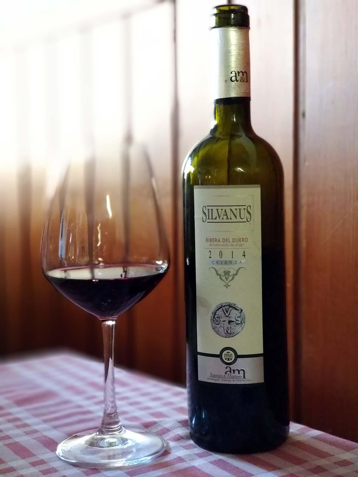 vino silvanus crianza 2014