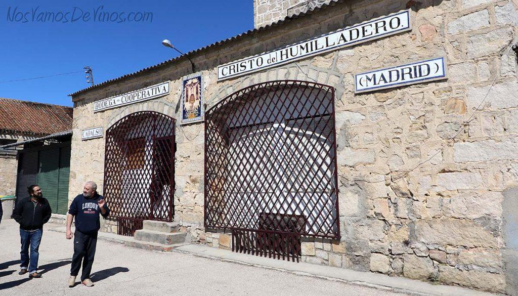 Bodega Cristo del Humilladero, en Cadalso de los Vidrios (Madrid)