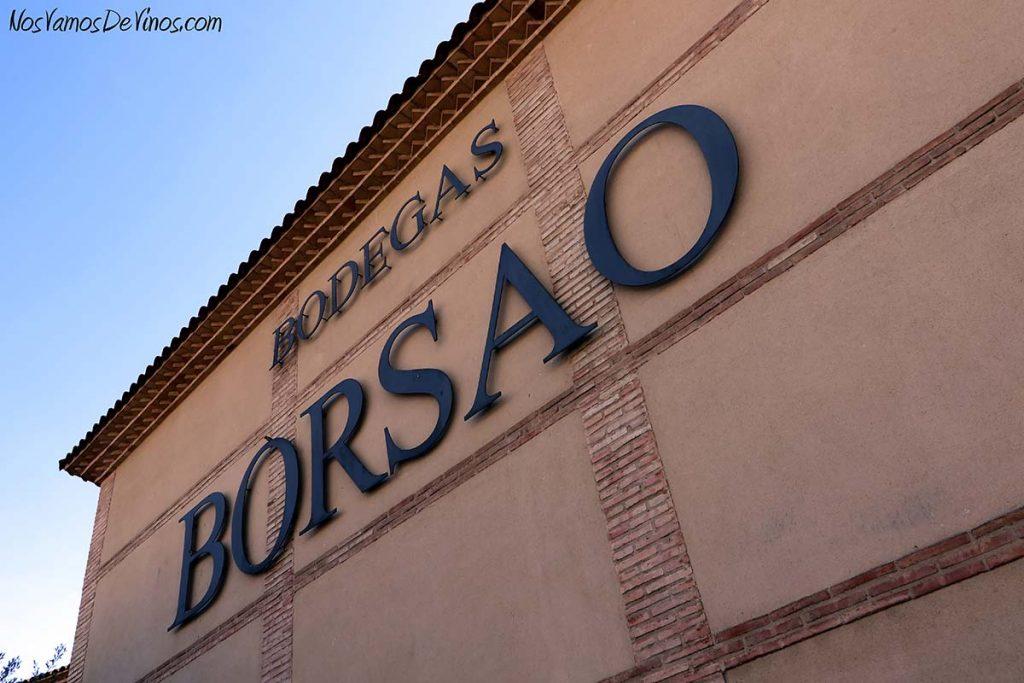 Bodegas Borsao fachada exterior