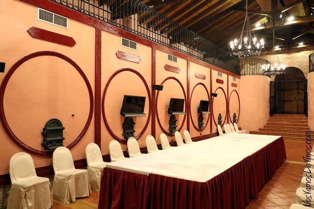 Bodegas Borsao sala de celebraciones