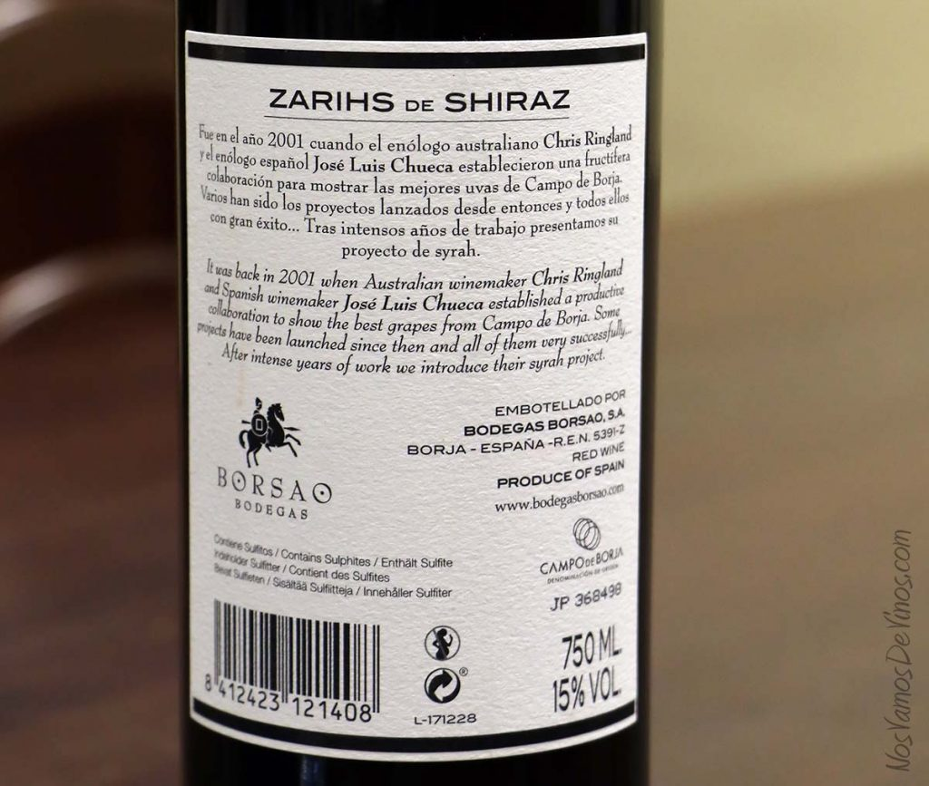 Zarihs-de-Shiraz-2015-Syrah-Borsao-etiqueta-trasera