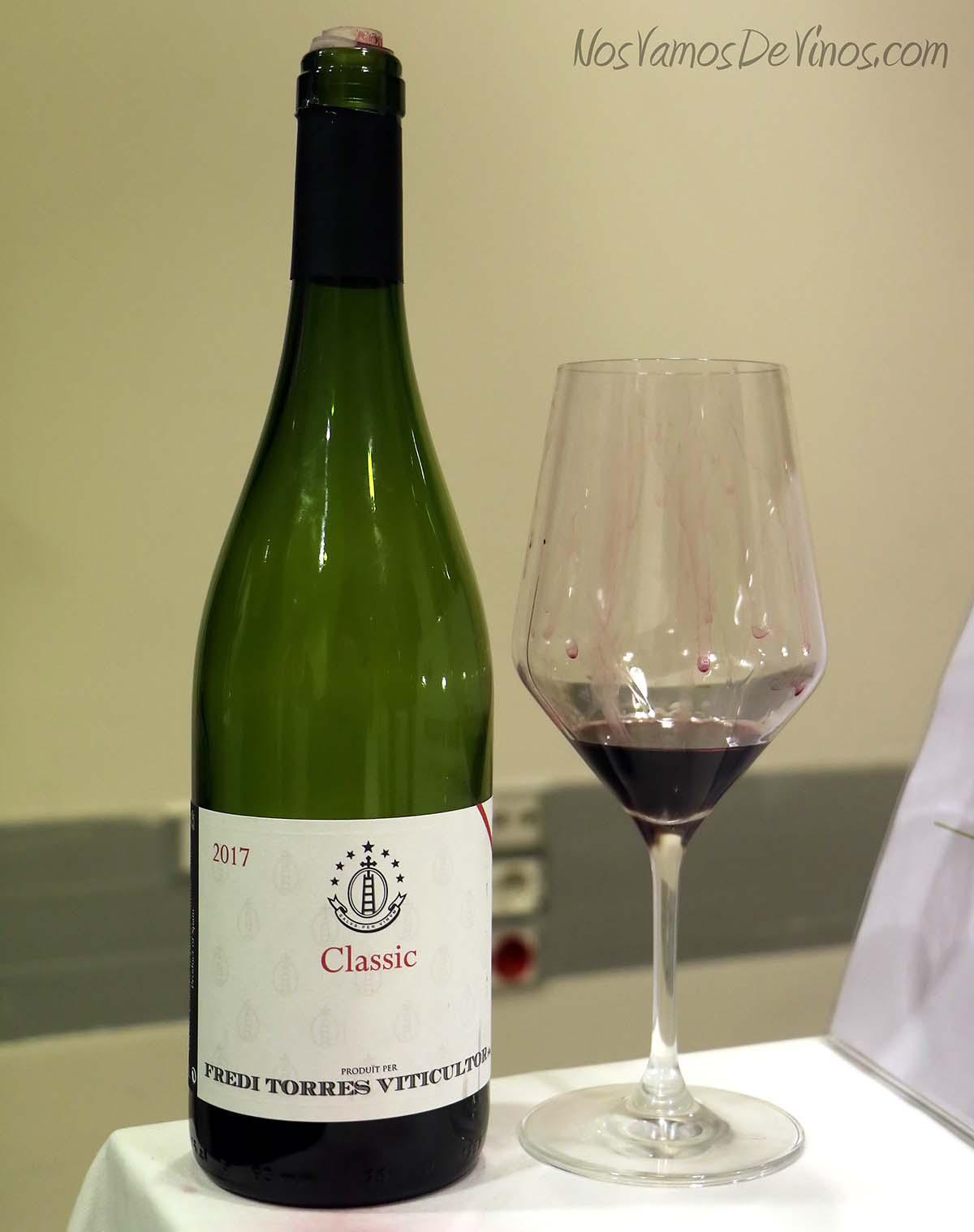 Classic Priorat Vino elaborado por Fredi Torres