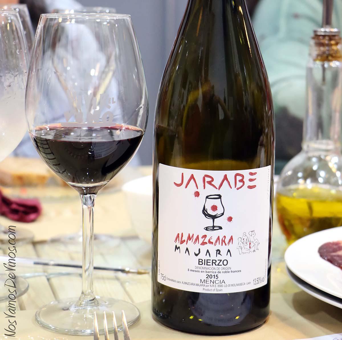Jarabe Almázcara Majara con copa