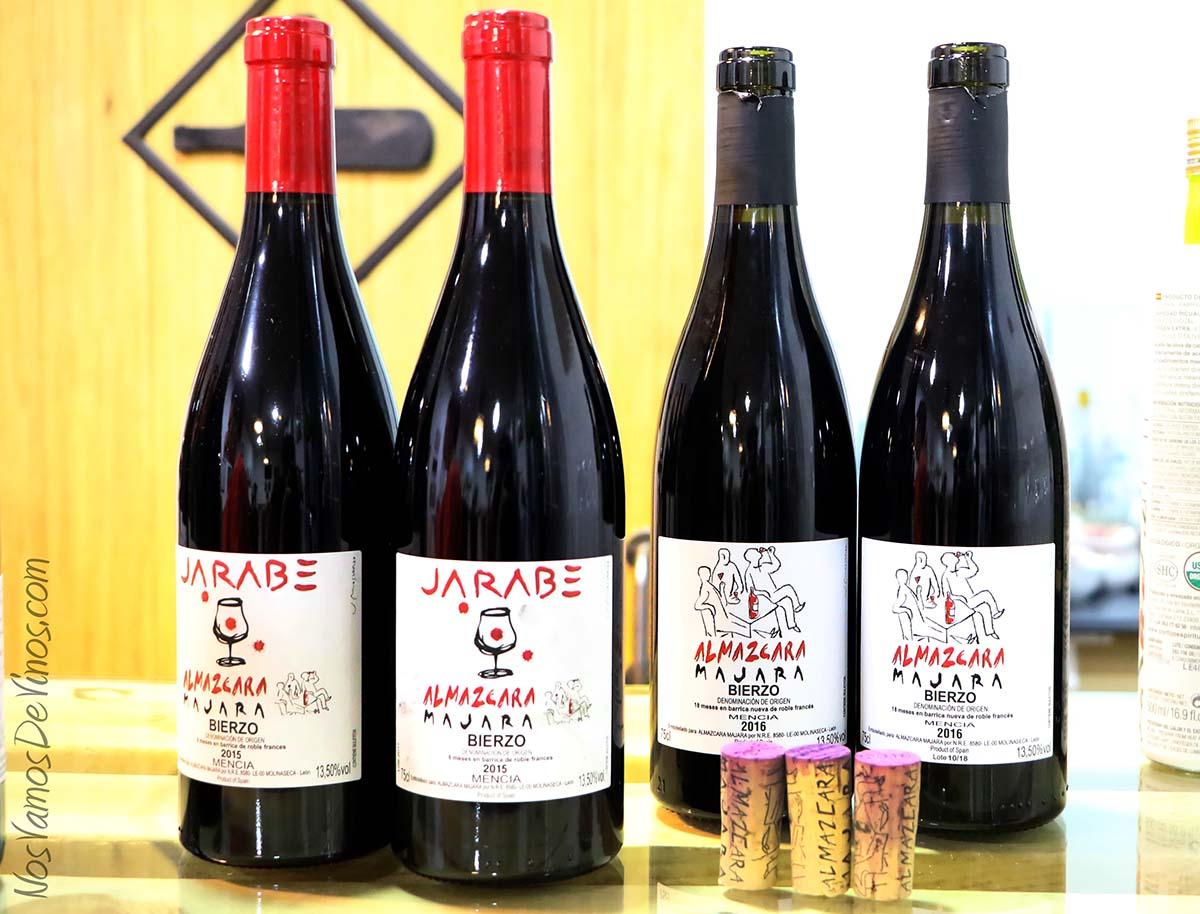 Jarabe Almázcara Majara botellas