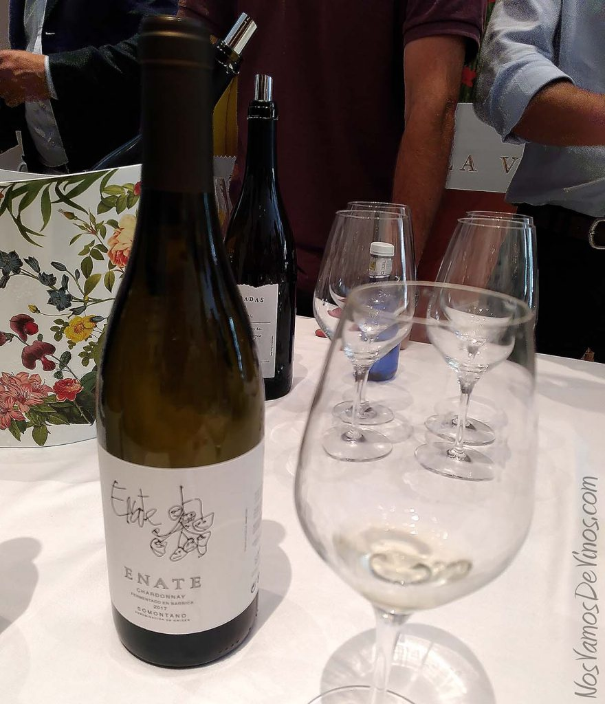 Salon Grandes Blancos España Enate Chardonnay Barrica