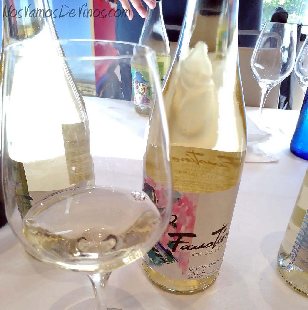 Salon Grandes Blancos España Faustino Chardonnay