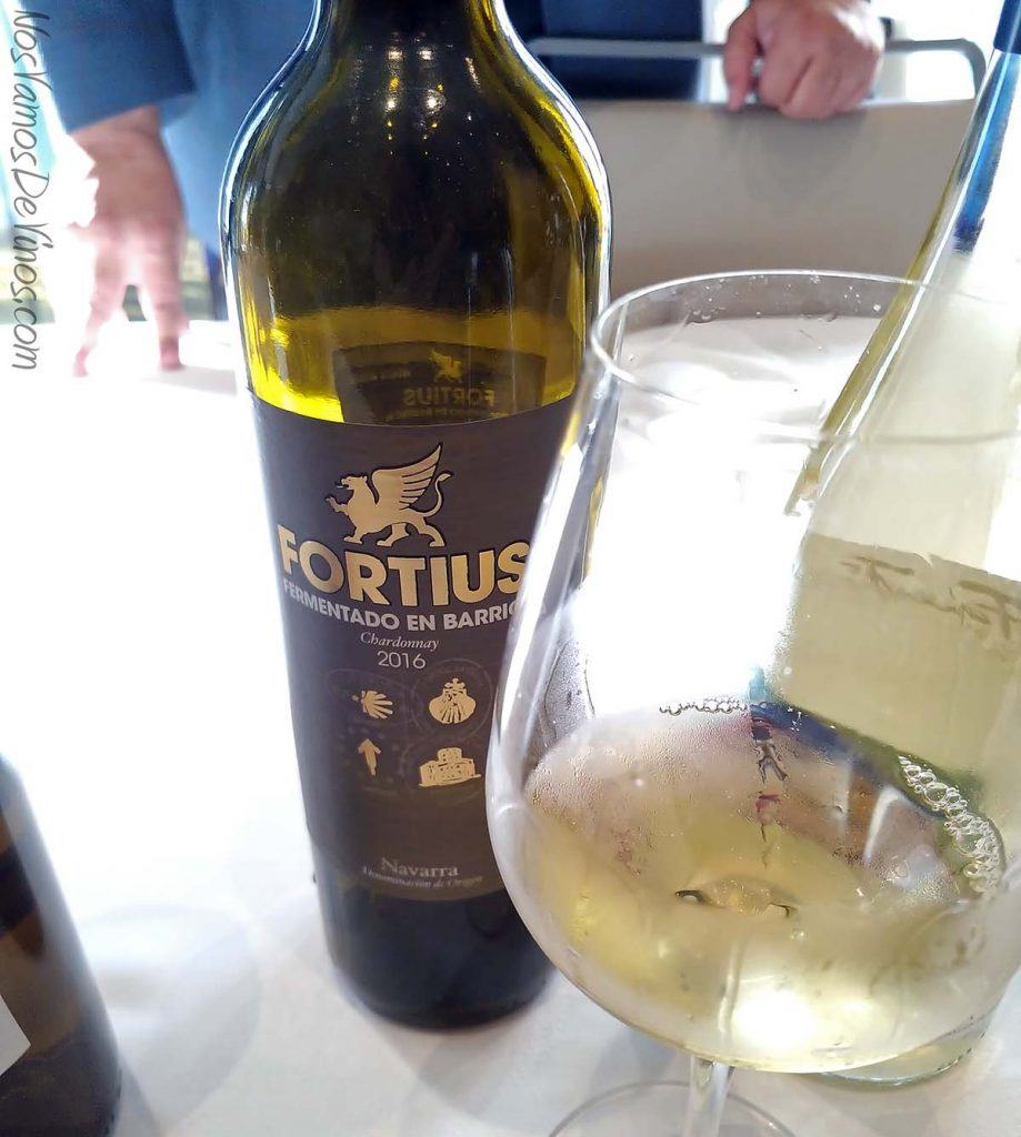 Salon Grandes Blancos España Fortius Chardonnay Barrica