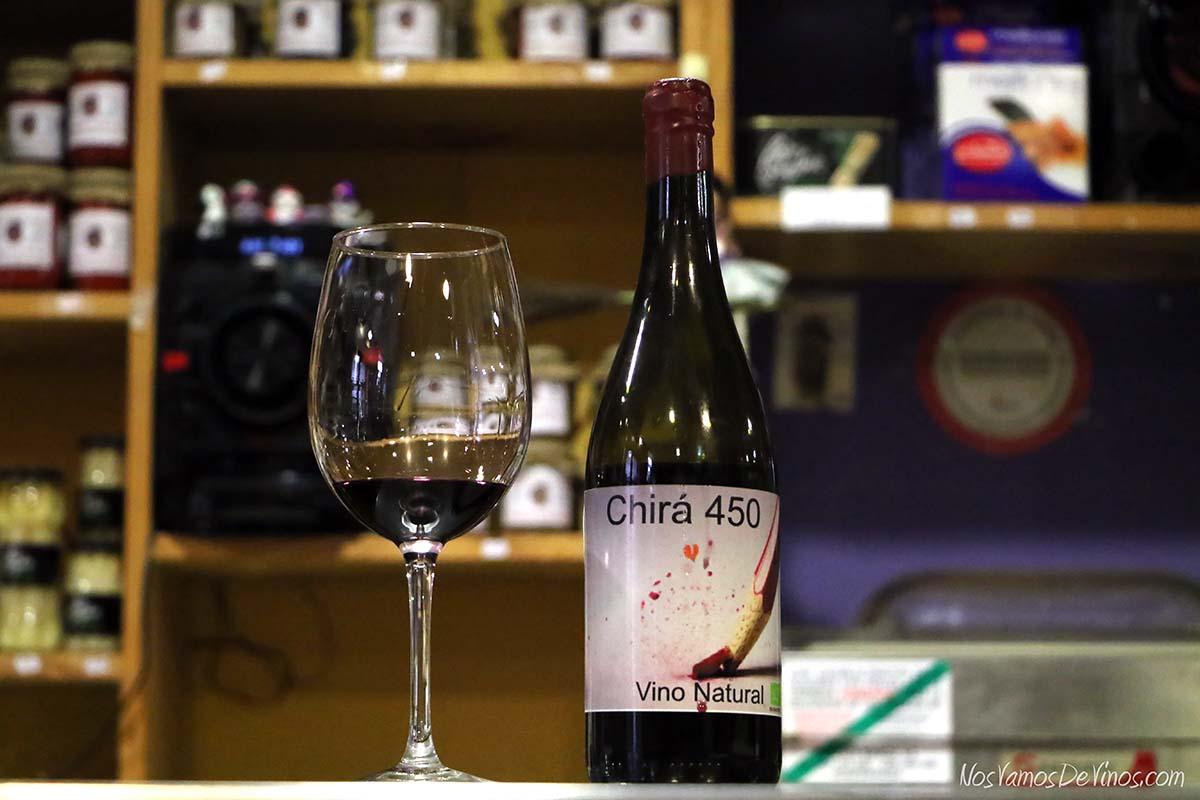 Chira 450 Un vino natural del Bierzo