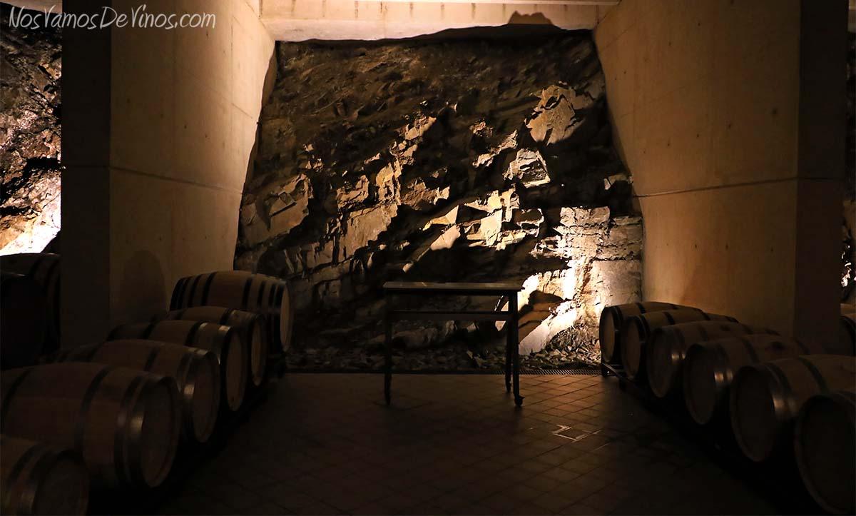 Descendientes de J. Palacios -Sala de envejecimiento de los vinos parcelarios