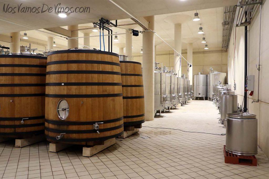 Descendientes de J. Palacios -Sala de fermentación
