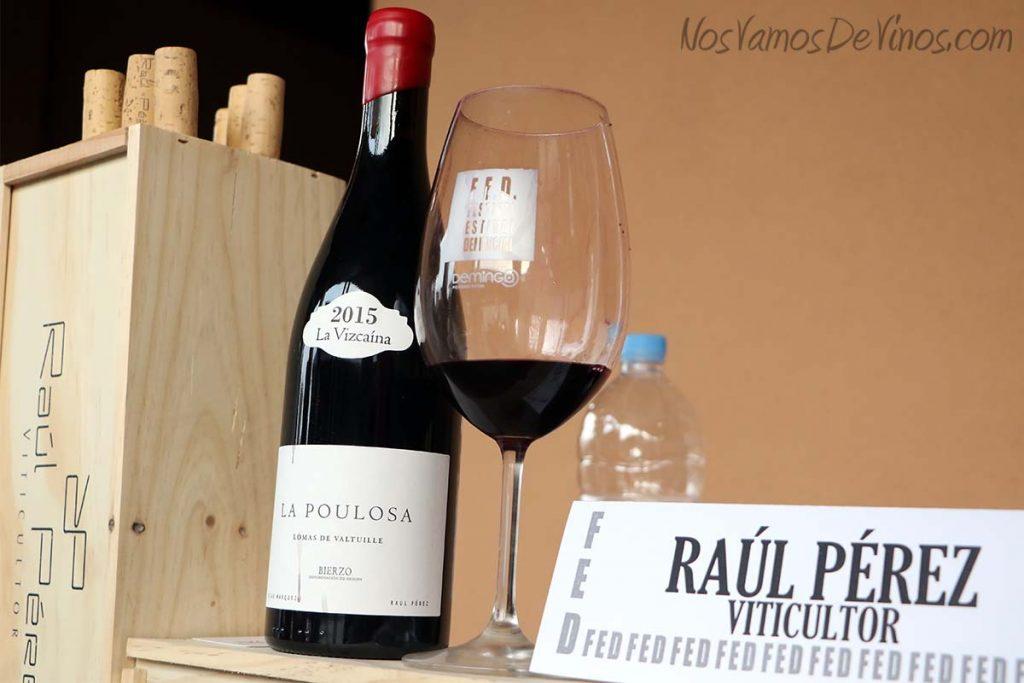FED Festival Estival Demencial La Poulosa un vino de Raúl Pérez Viticultor