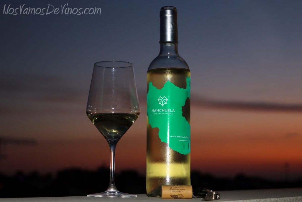 Manchuela vino de influencia blanco