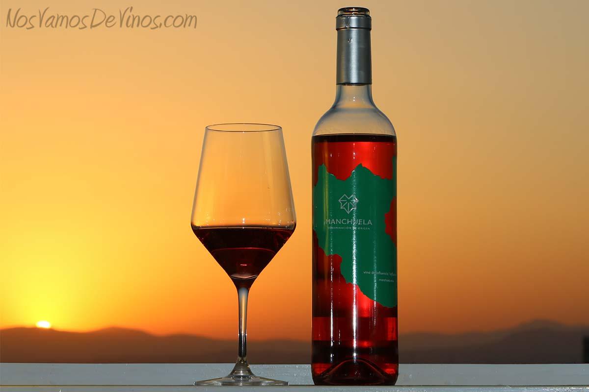 Manchuela vino de influencia rosado