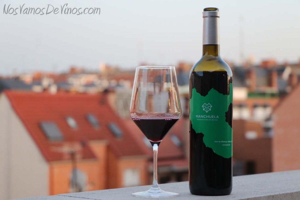 Manchuela vino de influencia tinto