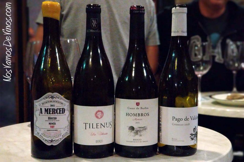 Evento Sarmiento X. Cata de vinos del Bierzo