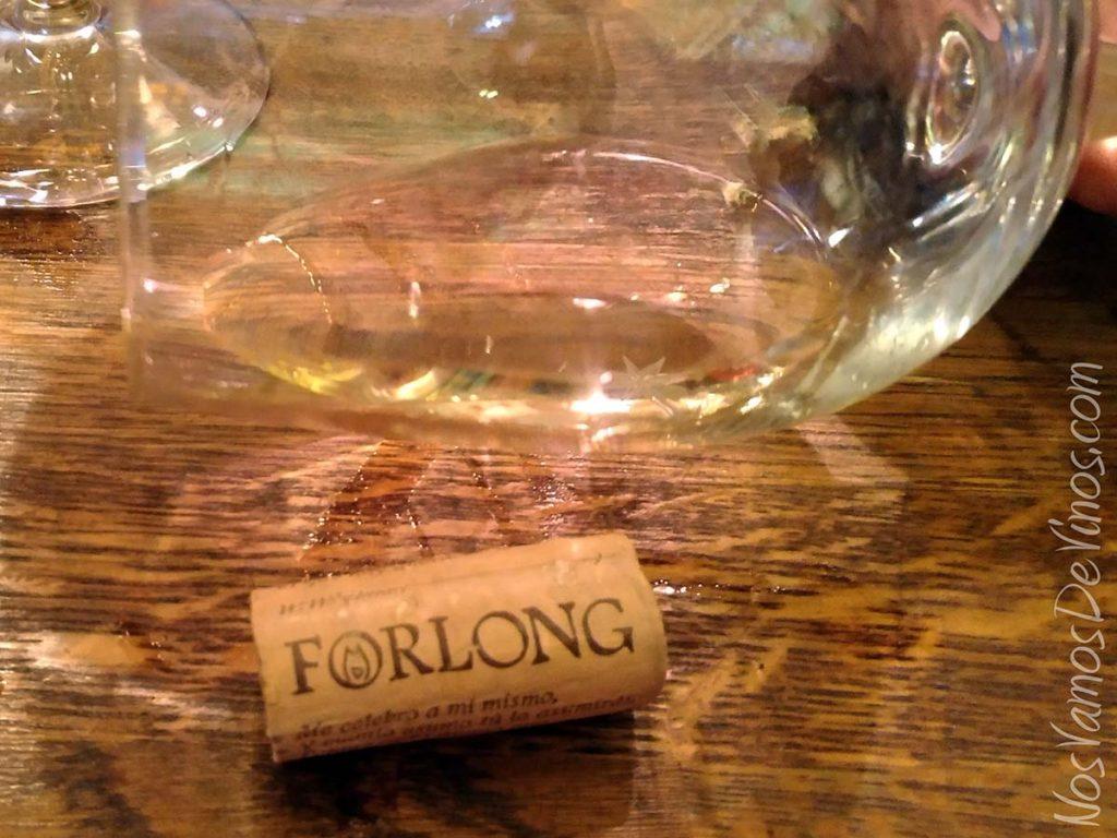 Forlong Mon Amour 2016 Corcho y copa