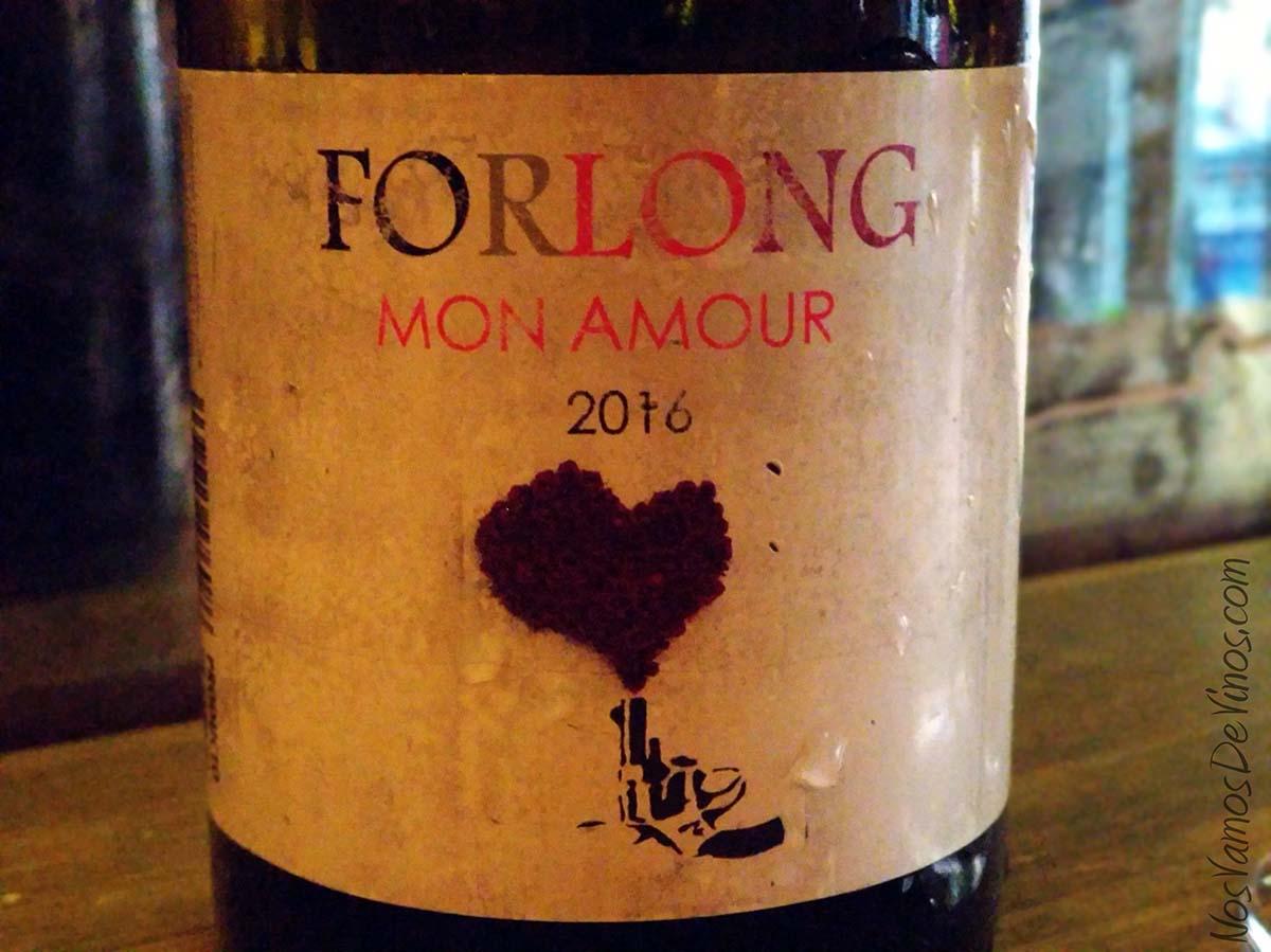 Forlong Mon Amour 2016 Detalle etiqueta
