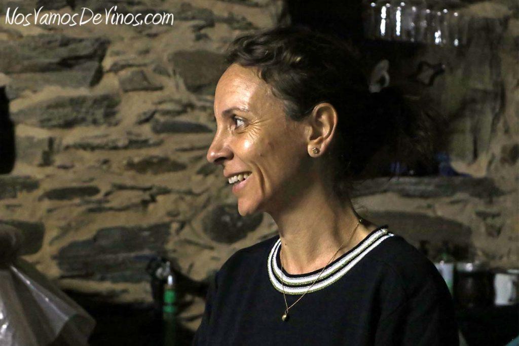 Andrea Mufatto en la bodega Michelini i Mufatto & González, en Toral de Merayo
