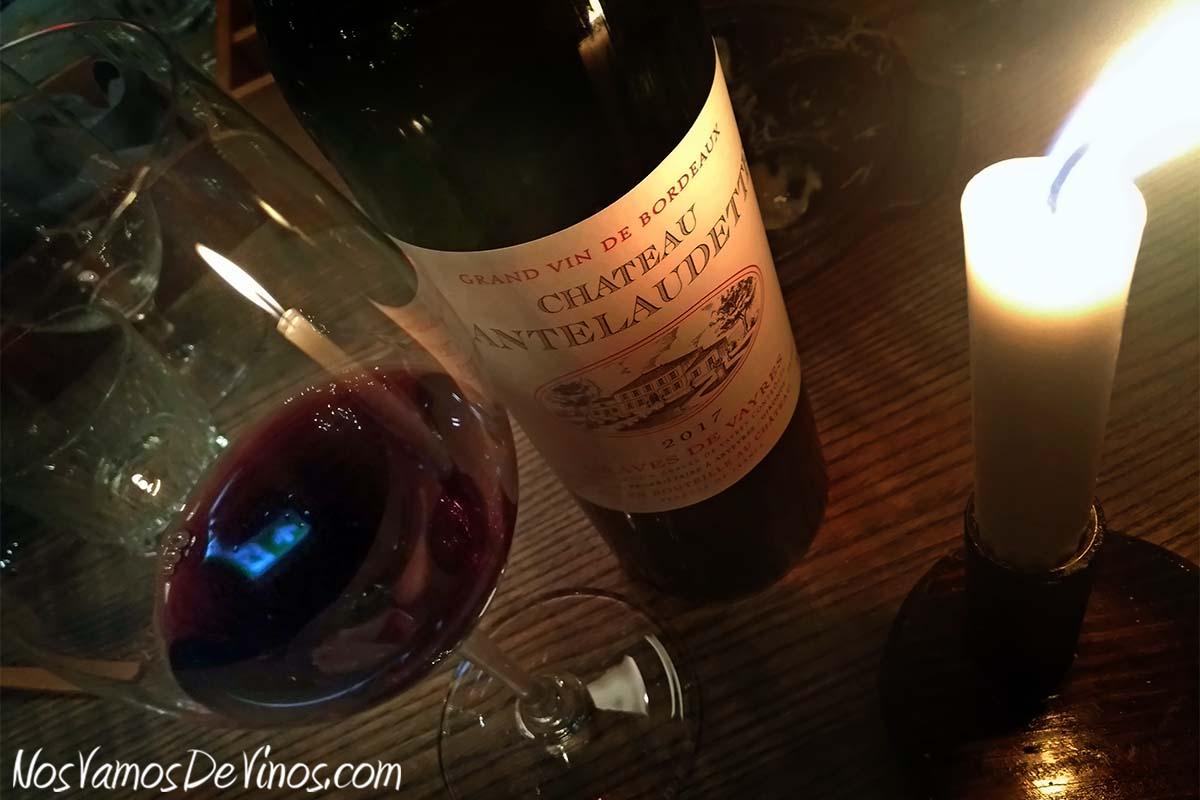 Château Cantelaudette 2017 Grand Vin de Bordeaux