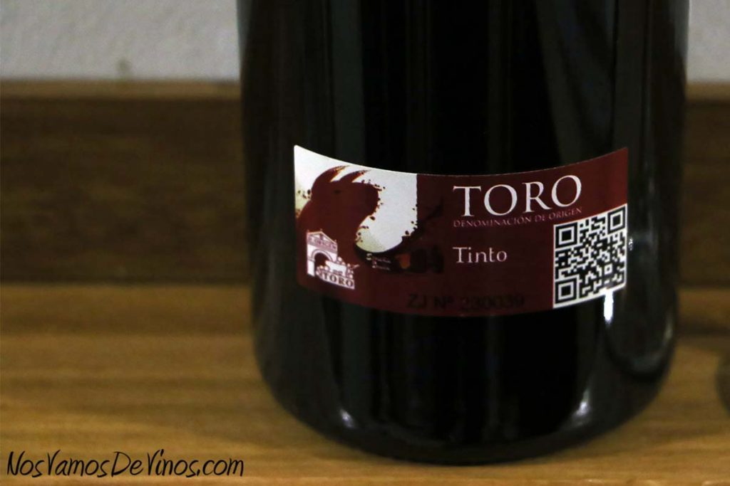 Madremía 2016 vino de Toro Etiqueta D.O.