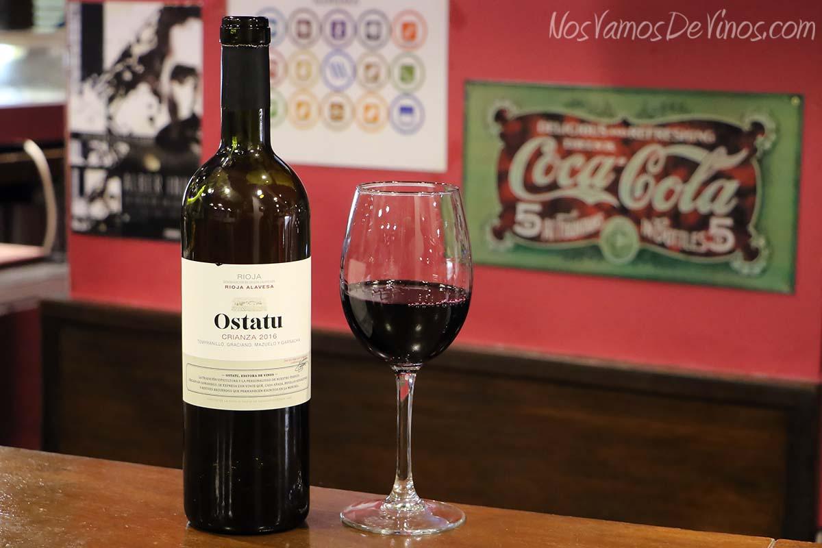 Ostatu Crianza 2016 Rioja
