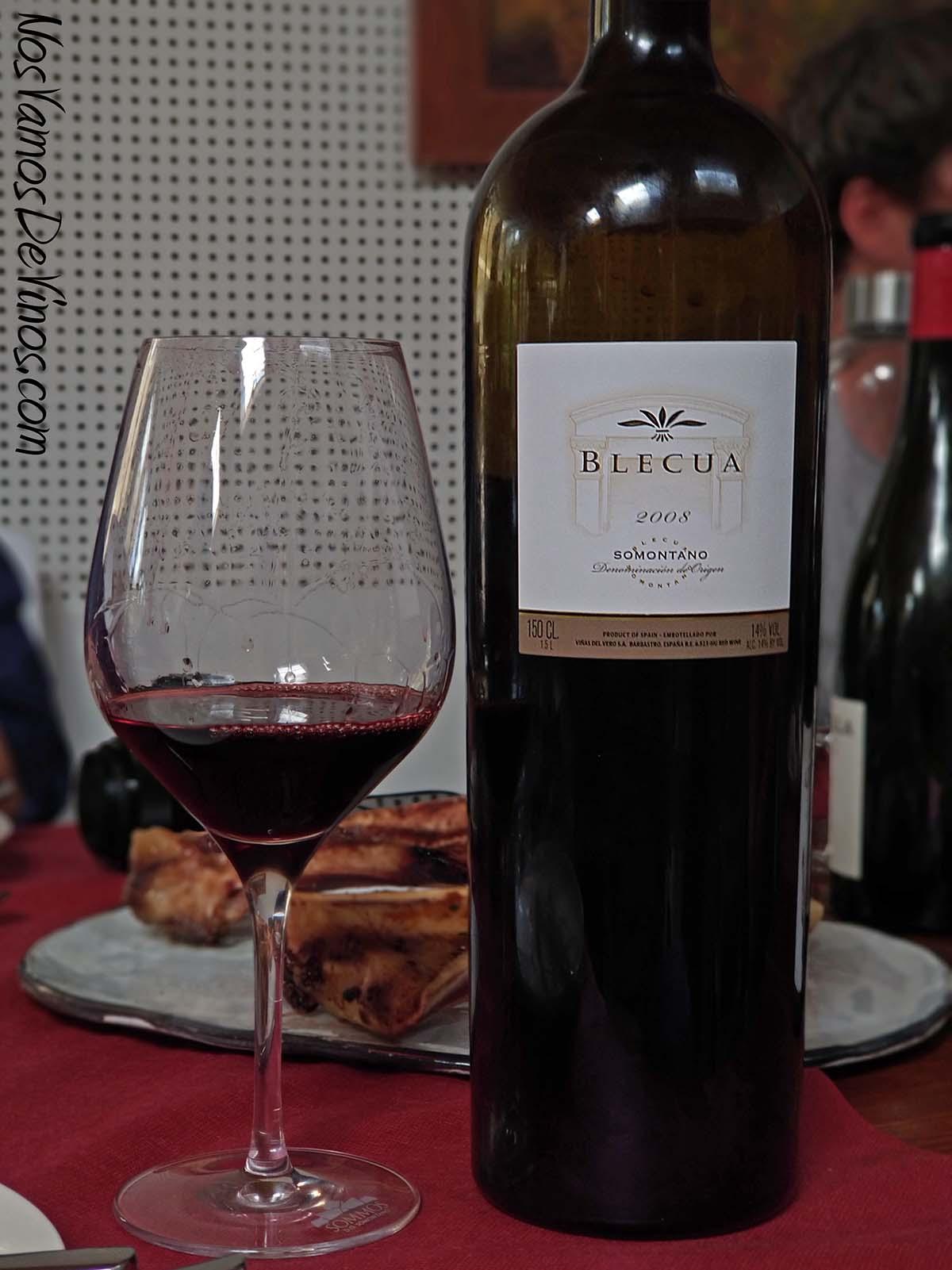 Blecua 2008 Somontano