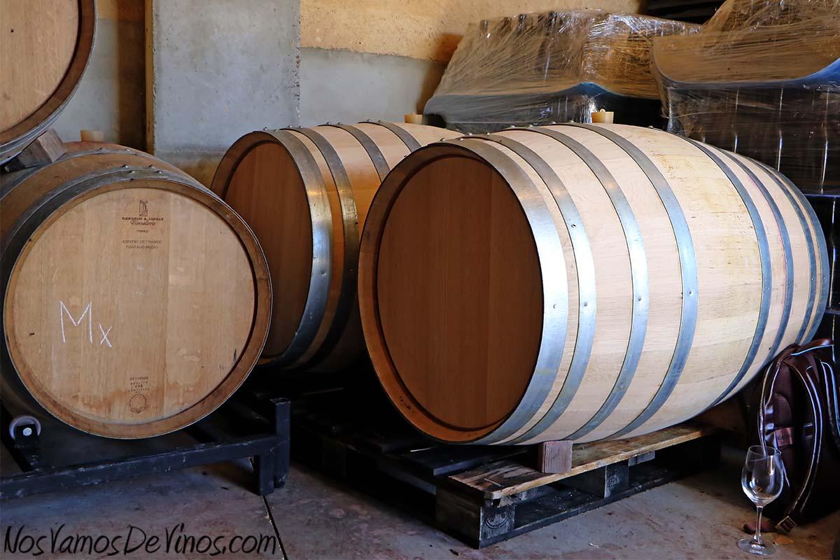 El Hato y el Garabato. Barricas de roble francés de 500 litros