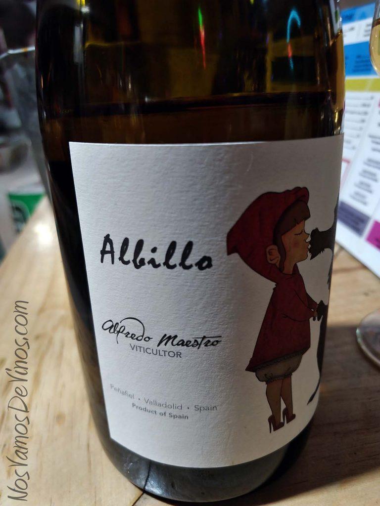 Lovamor 2018 un vino de Alfredo Maestro Detalle etiqueta
