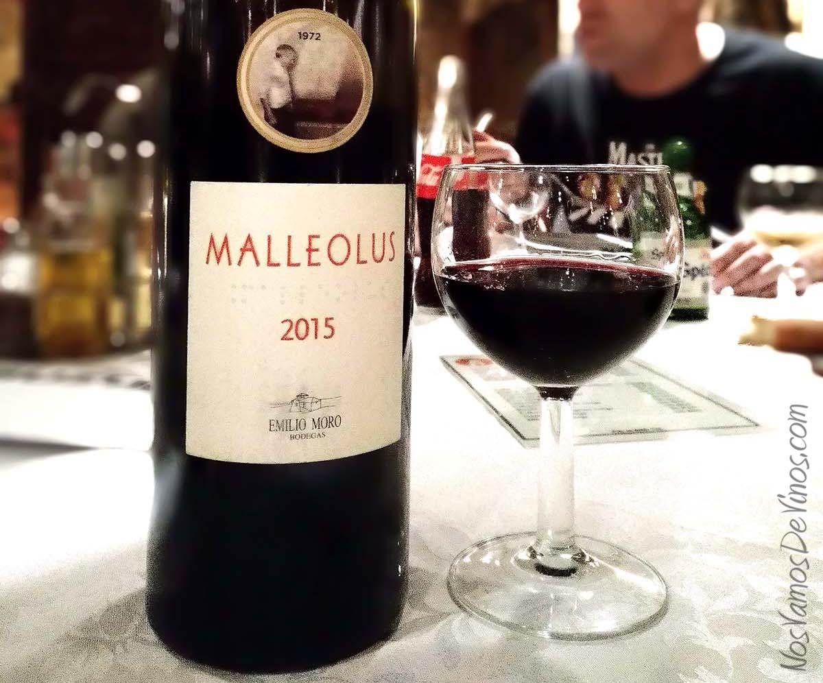 Malleolus 2015 un vino de Emilio Moro