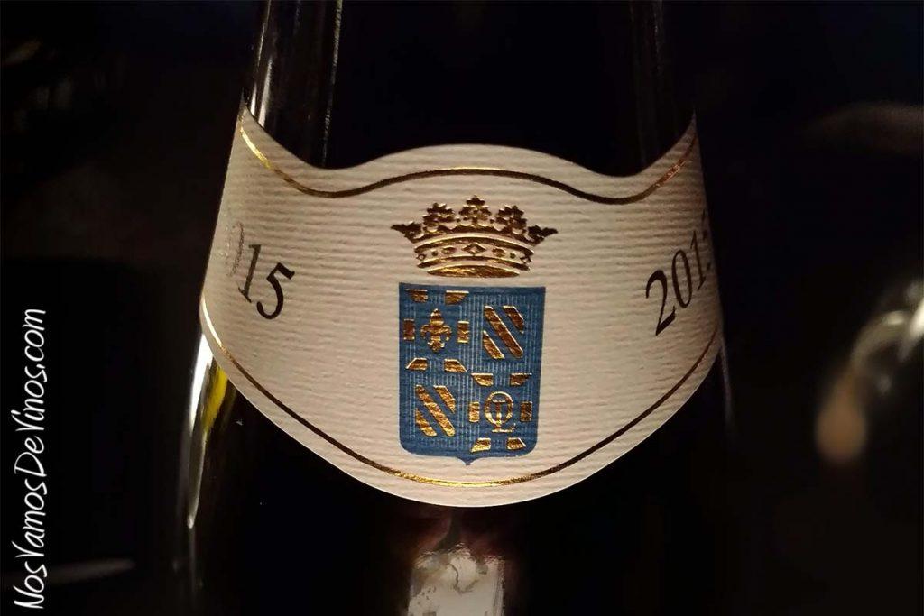 Olivier Leflaive Bourgogne Pinot Noir 2015 Etiqueta cuello