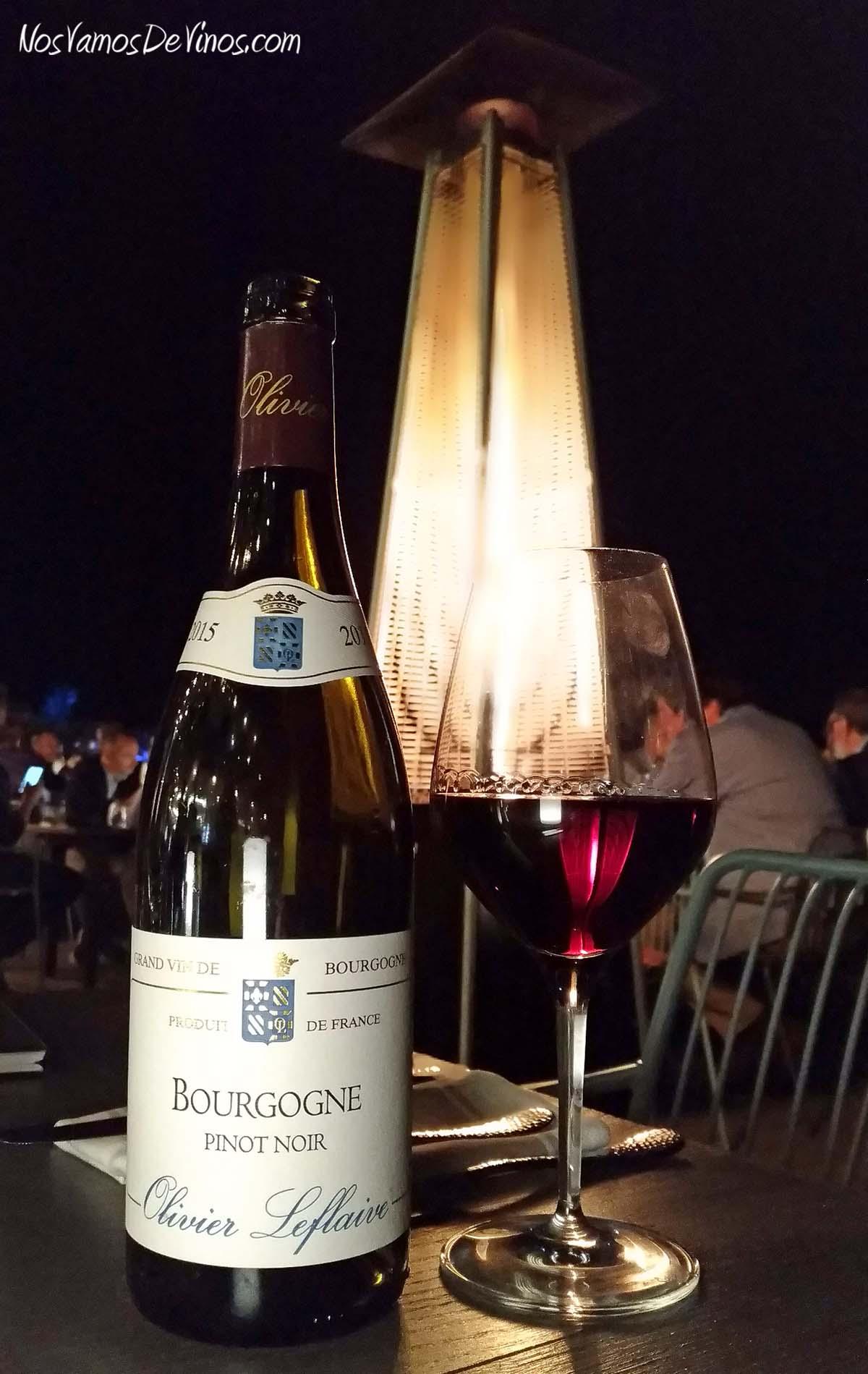 Olivier Leflaive Bourgogne Pinot Noir 2015