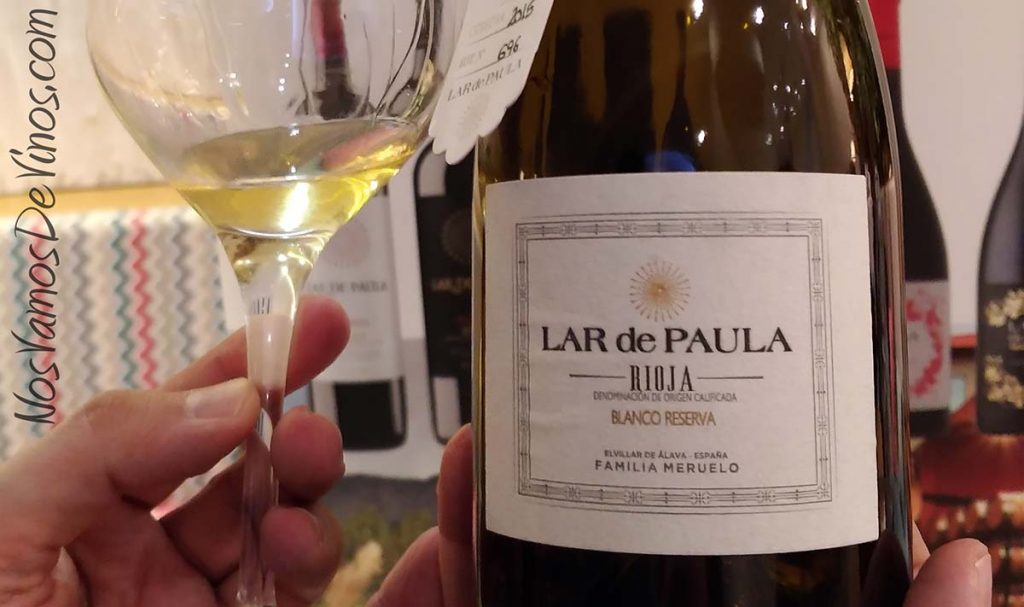Lar de Paula Blanco Reserva 2015