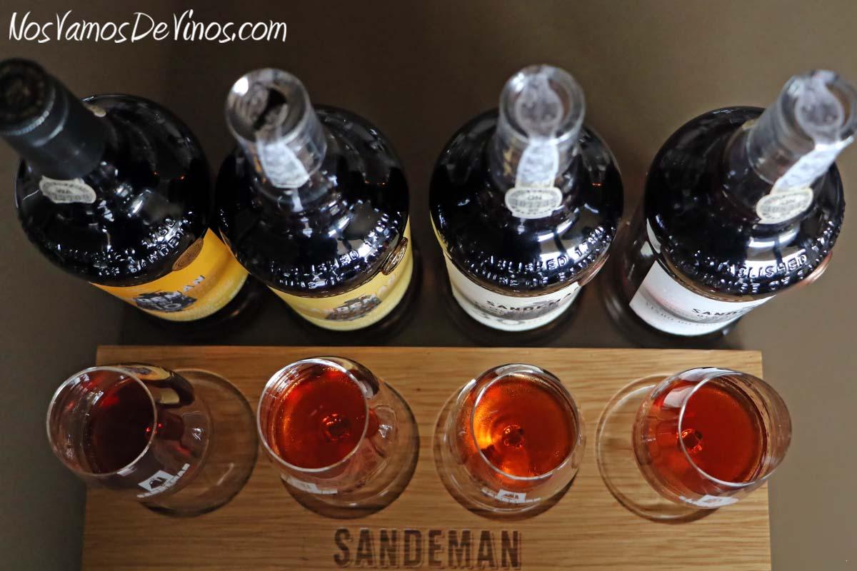 Sandeman Old Tawny Porto. 100 years Porto tasting