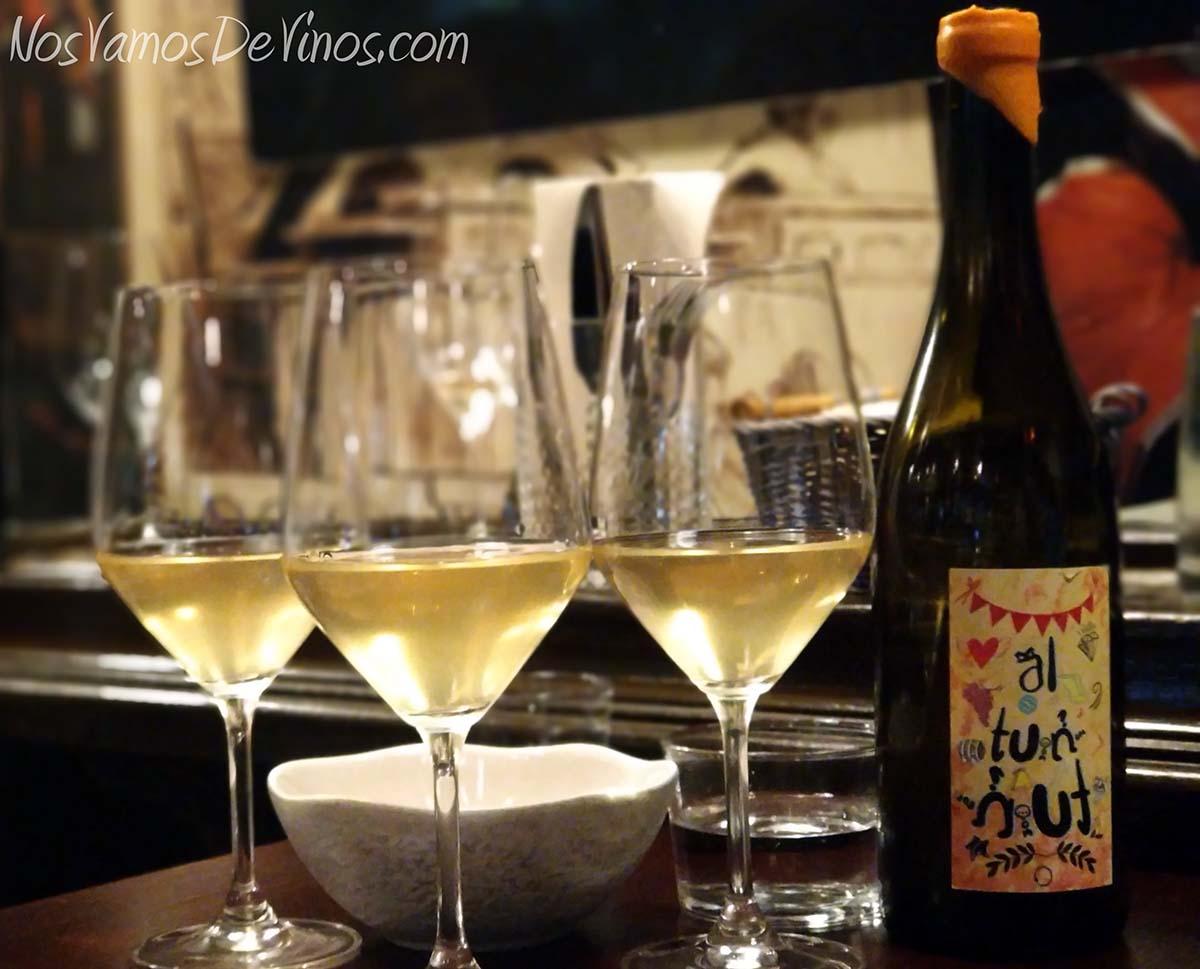 Al Tun Tún 2016 un vino de 4Ojos wines