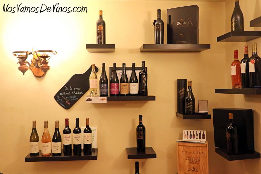 Bodegas Santalba. Gama de vinos de la bodega