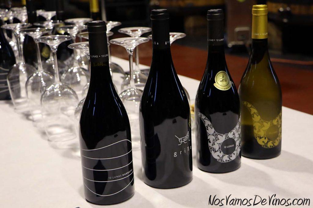 El Grillo y la Luna. Cata. Botellas borgoñesas serigrafiadas