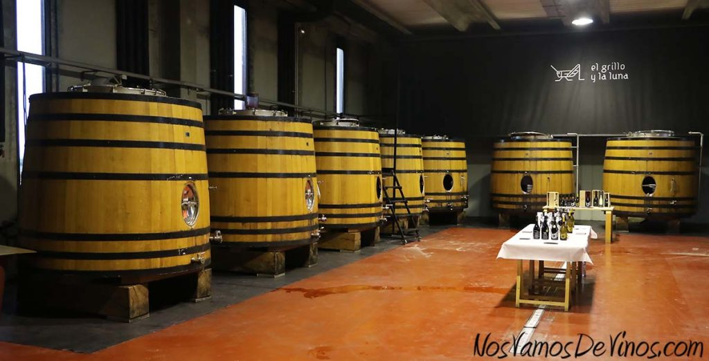 El Grillo y la Luna. Sala de fermentación. Foudres