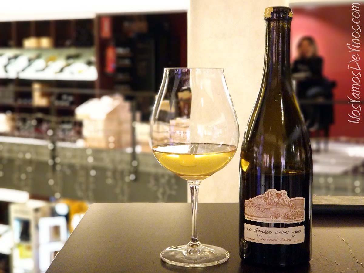 Les Gryphées Vieilles Vignes Chardonnay 2015 Ganevat