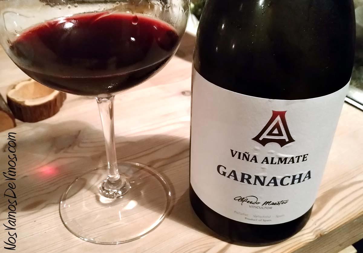Viña Almate Garnacha 2014 Un vino de Alfredo Maestro