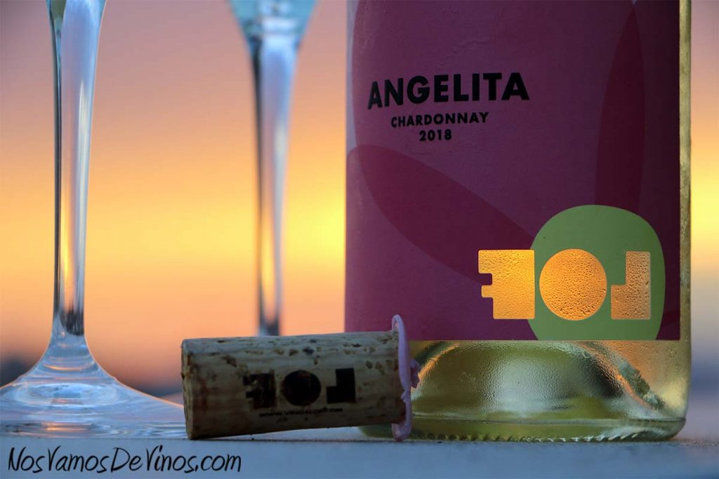 Angelita Chardonnay 2018 Detalle