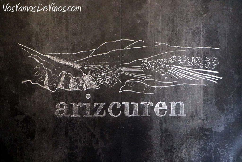 Arizcuren. Bodega urbana en Logroño. Detalle decorativo.