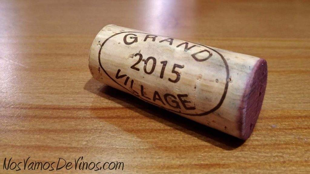 Château Grand Village 2015 Corcho