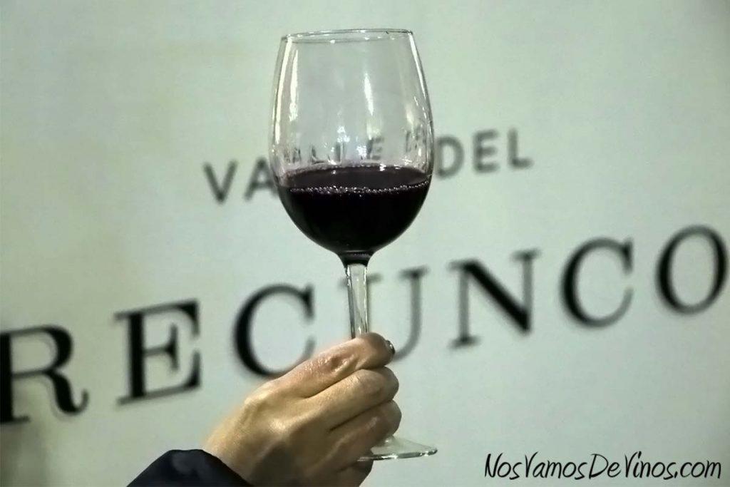 Feria de vinos del Festival La Puebla, en Ponferrada. Familia Arias Vidal, Valle del Recunco.